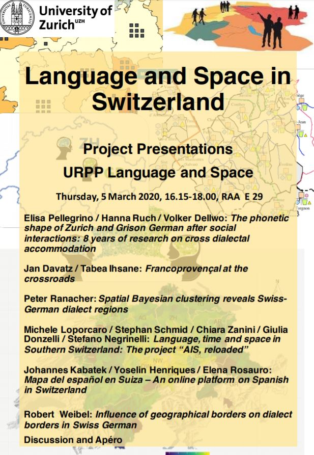 Language and Space in Switzerland